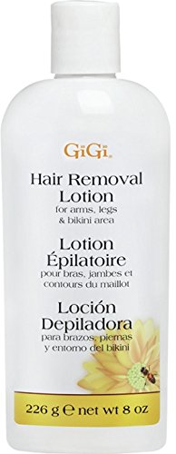 Gigi Hair Removal Lotion, 8 Ounce (Hair Removal Lotion)