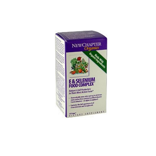 New Chapter E & Selenium Complexe alimentaire, 60 Count