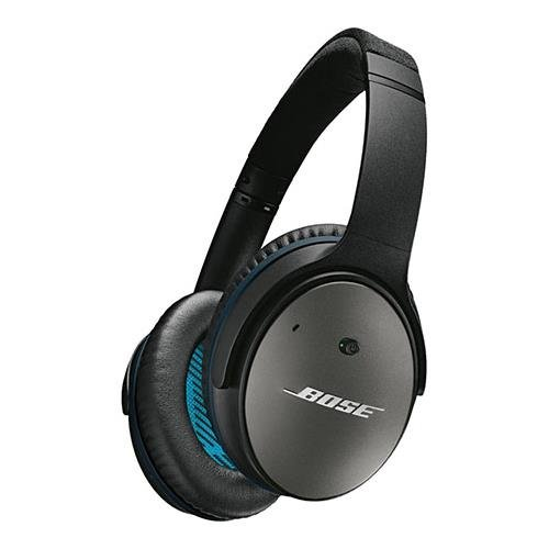 Bose QuietComfort 25 Acoustic Noise Cancelling Headphones for Apple Devices, Black