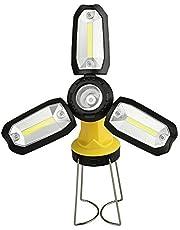 Domary Lanterna USB Lanterna recarregável Abajur de emergência para acampamento e caminhada ao ar livre