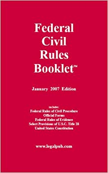 Federal Civil Rules Booklet