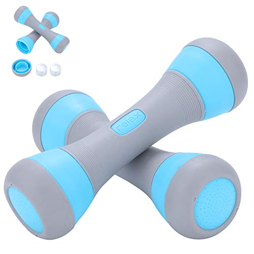 CHPPEY Adjustable Weights Dumbbells Set for Women – Hand Exercise Dumbbells, Exercise Weights for Weightlifting Home Gym…