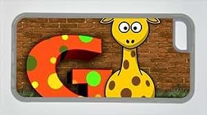 E-luckiycase TPU Supple Shell Giraffe G with Transparent Edges Skin for Iphone 5C CaseKimberly Kurzendoerfer
