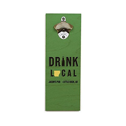 GiftsForYouNow Personalized Drink Local Bottle Opener, Arkansas -