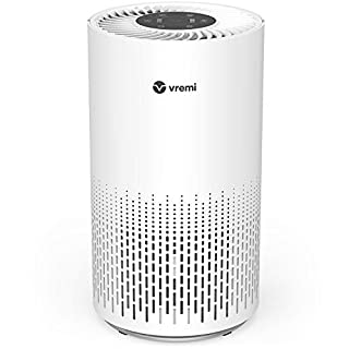 Vremi Premium True HEPA Air Purifier for Large Rooms - with H13 Filter, 3-Stage Filtration and Air Quality Monitor - Reduces Odors, Smoke and Pet Dander to Improve Indoor Air