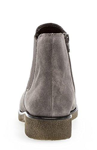 92 G Weite Flach Frauen Boots Stiefel 2cm Damen Bootie Halbstiefel Normal Einlegesohle Stiefelette Schlupfstiefel Chelsea 701 Blockabsatz Gabor naPtUZ1