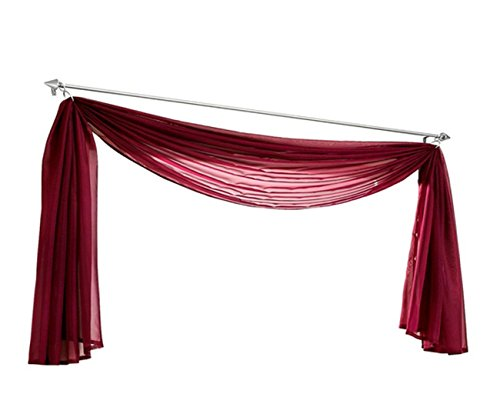 Uphome Elegance Pattern Valance Curtain
