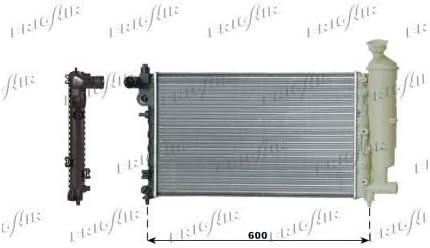 FRIGAIR Car Radiator For PEUGEOT 106 0108.3047