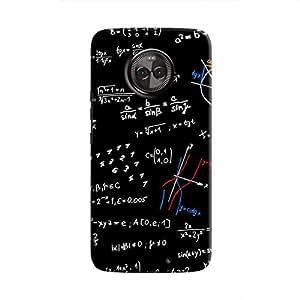 Cover It Up - Math equation print Moto X4 Hard Case