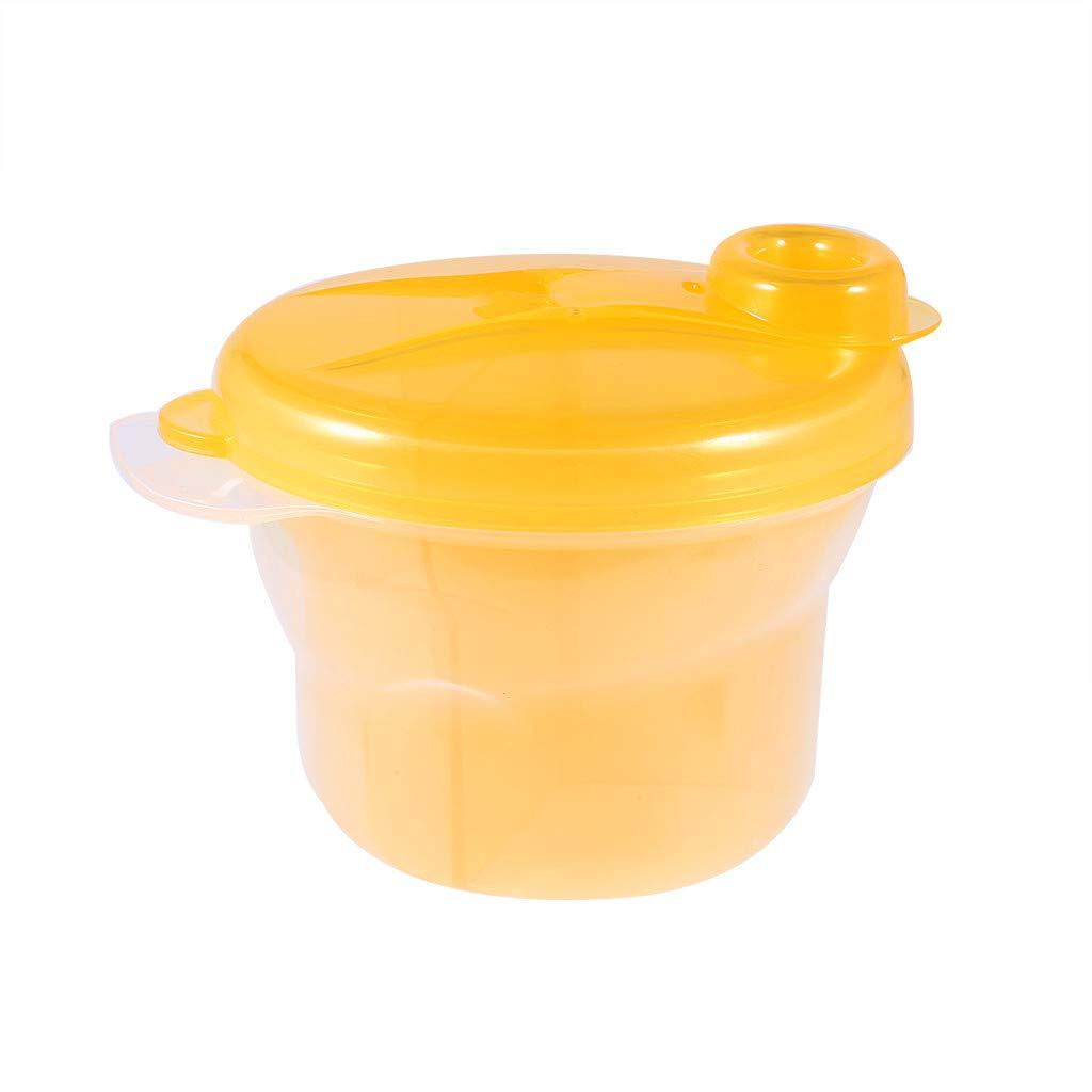 Willsa Rotating Milk Powder Box Safety Baby Milk Powder Container Snack Box Container