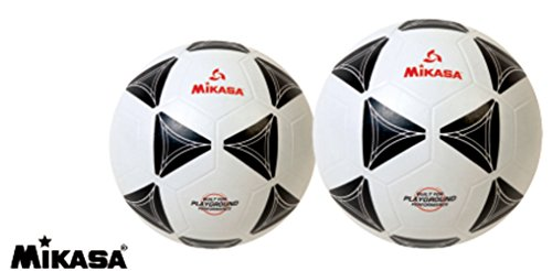 - Mikasa Black and White Rubber Soccer Ball (4)
