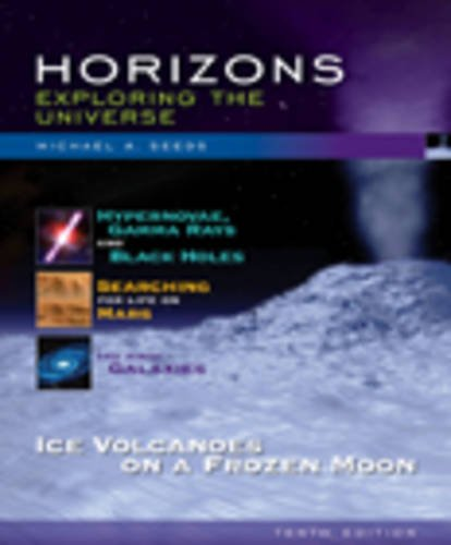 Horizons: Exploring the Universe (with CengageNOW, Virtual Astronomy Labs Printed Access Card) (Available 2010 Titles En