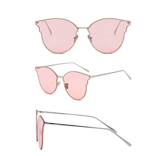 PolariséEs UV Femmes Pink Lunettes Lunettes 100 TESITE De Mirror Soleil 6XwOvx0q