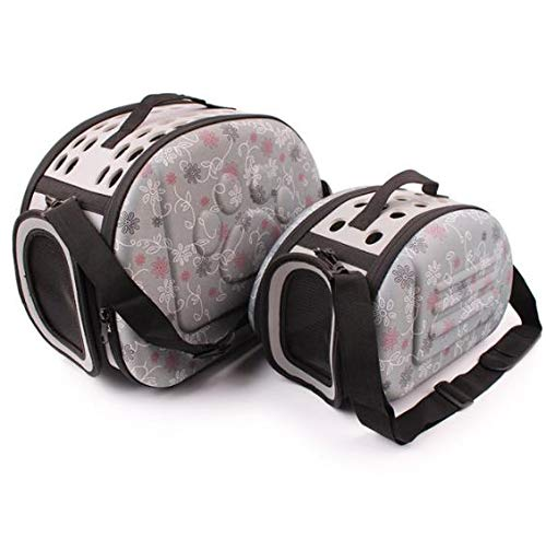 Dog Bicycle Carrier – Bicycle Dog Carrier – Dog Carrier Bicycle – Small Pet Sided Carrier for Dogs Cats Travel Bag Folding Carrier Cage Collapsible Crate Tote Handbag Potable.