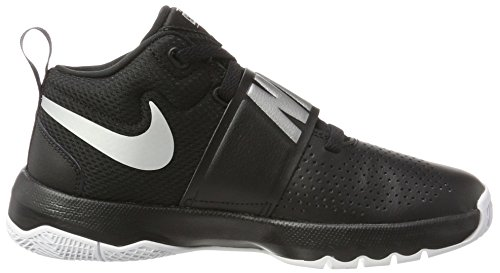 Hustle metallic Uomo 8 white Nike D Nero black Da Team Scarpe Silver gs Basket 001 aqn5U4P