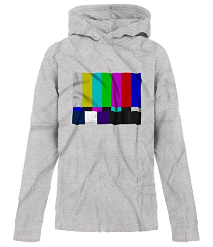 BSW Youth Girls No Channel Color Bars Vintage Big Bang Theory Hoodie LRG Grey