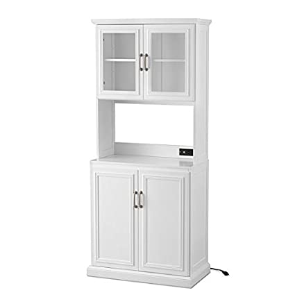 Hampshire Tall Kitchen Pantry   White