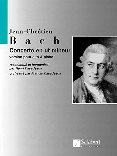 J. C. Bach-Casadesus: Viola Concerto in C Minor