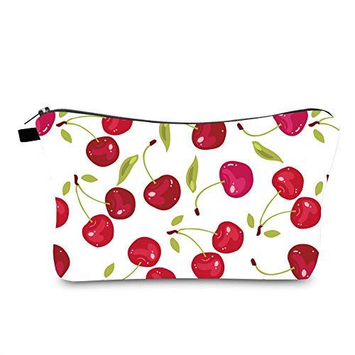 Jom Tokoy Hakuna Matata Makeup Bag Travel Case Cosmetic Bag (cherry 1091)
