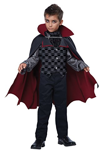 California Costumes Count Blood Fiend/Child Costume, One Color, Medium (Girl Vampire Costume)