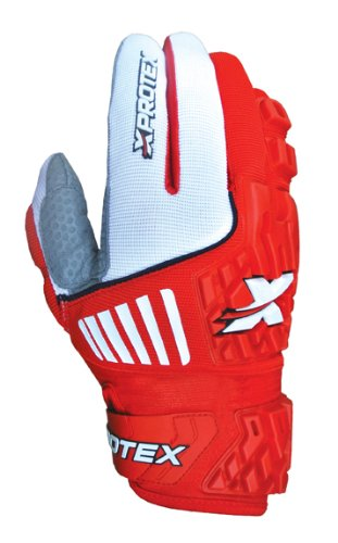 Xprotex大人Raykr 2014保護用バッティング手袋、レッド、スモール B00GV4MYX0