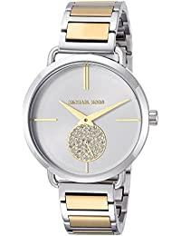 Womens Quartz Stainless Steel Casual Watch, Color:Silver-Toned (Model: MK3679