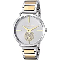 Michael Kors Women's Quartz Stainless Steel Casual Watch, Color Silver-Toned (Model: MK3679)