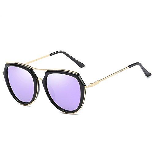 Color moda viaje sol de marco D conducción la E de del la de ligeras grandes de ZHIRONG sol polarizadas de retra Gafas playa gafas n7vwqUU1