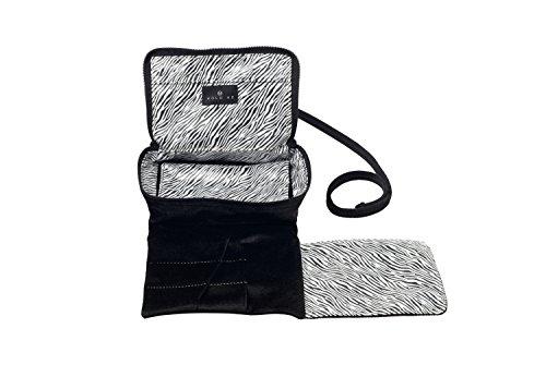 Hold Me Baby Bag - Little Zebra - Small Makeup & Brush Organizer