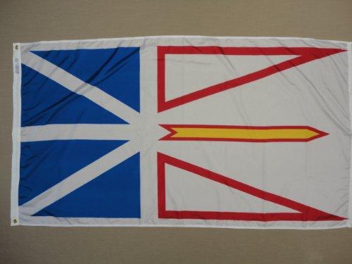 Cheap Annin Flagmakers 220155 Nyl-Glo Newfoundland Flag, 3-Feet by 6-Feet
