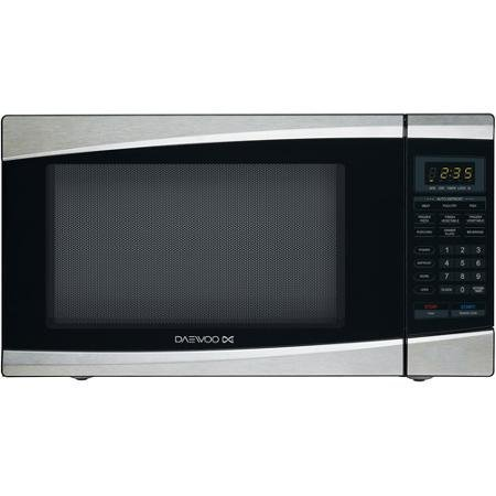 Daewoo KOR-137ES Microwave Oven One Size Stainless Steel