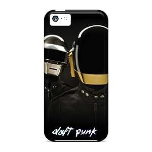 IanJoeyPatricia Iphone 5c Scratch Protection Phone Cover Custom Stylish Daft Punk Skin [WCL4037XnXT]