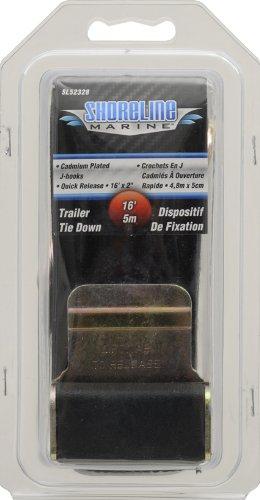 Shoreline Marine Trailer Gunwale Tie Down, 16-Feet