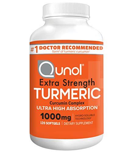 Turmeric Curcumin Softgels Qunol