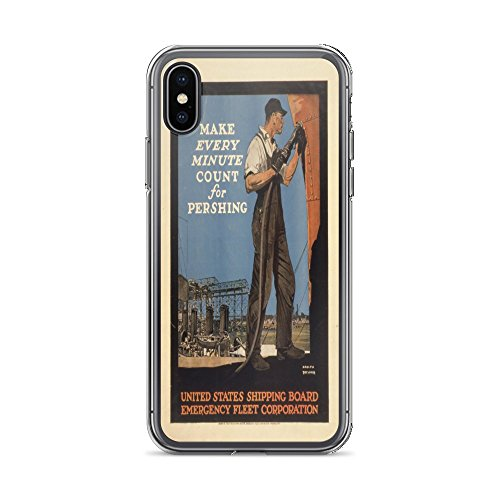 Vintage Poster - Make Every Minute Count 0691 - iPhone Xs Max Phone Case