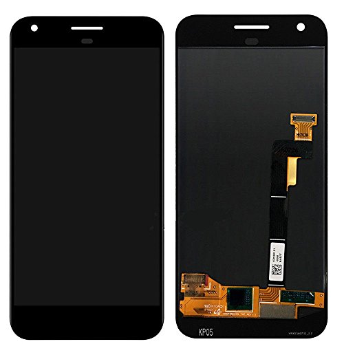 Kiker 5'' LCD Display Touch Screen Digitizer Assembly for Google Pixel (Black) by Kiker Technology