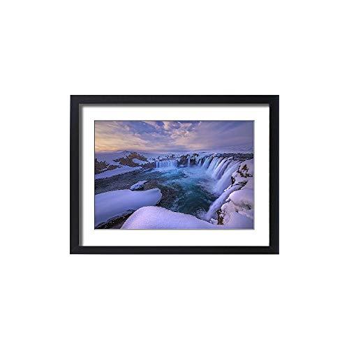 Media Storehouse Framed 24x18 Print of Godafoss Iceland (12478837) by Media Storehouse (Image #3)