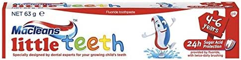 Macleans Little Teeth Paste 63g product of Australia