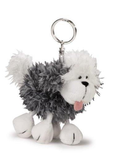 Nici Beanbag Key Holder - (Sheepdog Dog Keychain)