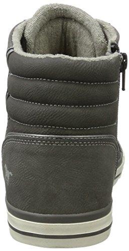 Mustang 4096-501-2, Zapatillas Altas para Hombre Gris (Grau)