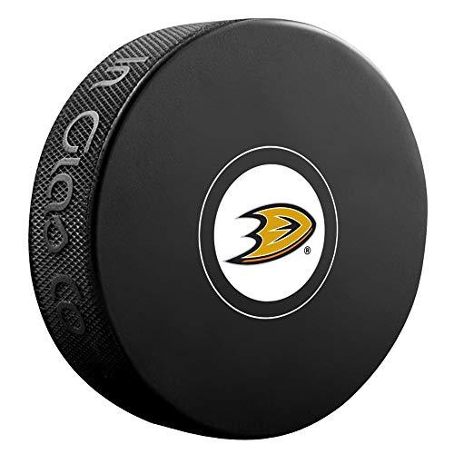 Anaheim Ducks Autograph Model Hockey Puck ()