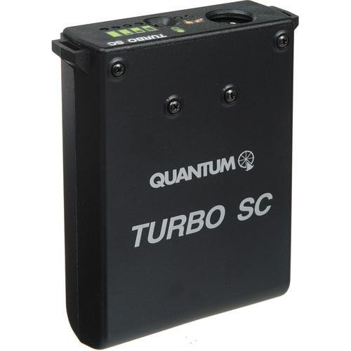 Quantum Turbo SC Battery Pack for Portable Flashes, UK Plug by Quantum