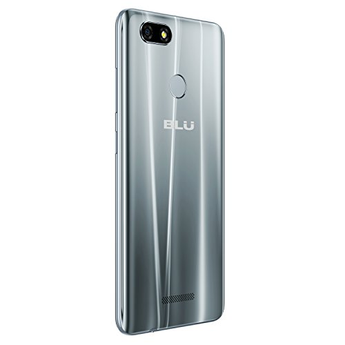 "BLU Vivo XL3-5.5"" HD+ 18:9 Display Smartphone with Android 8.0 Oreo –Silver"
