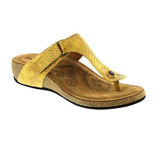 Taos Footwear Women's Lucy, Yellow, 42 EU/11-11.5 M US