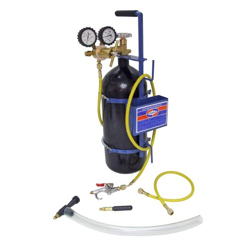 Uniweld 40004 Nitrogen Sludge Sucker and Blaster Kit with Metal Carrying Stand for 40 Cubic Feet Nitrogen Tank