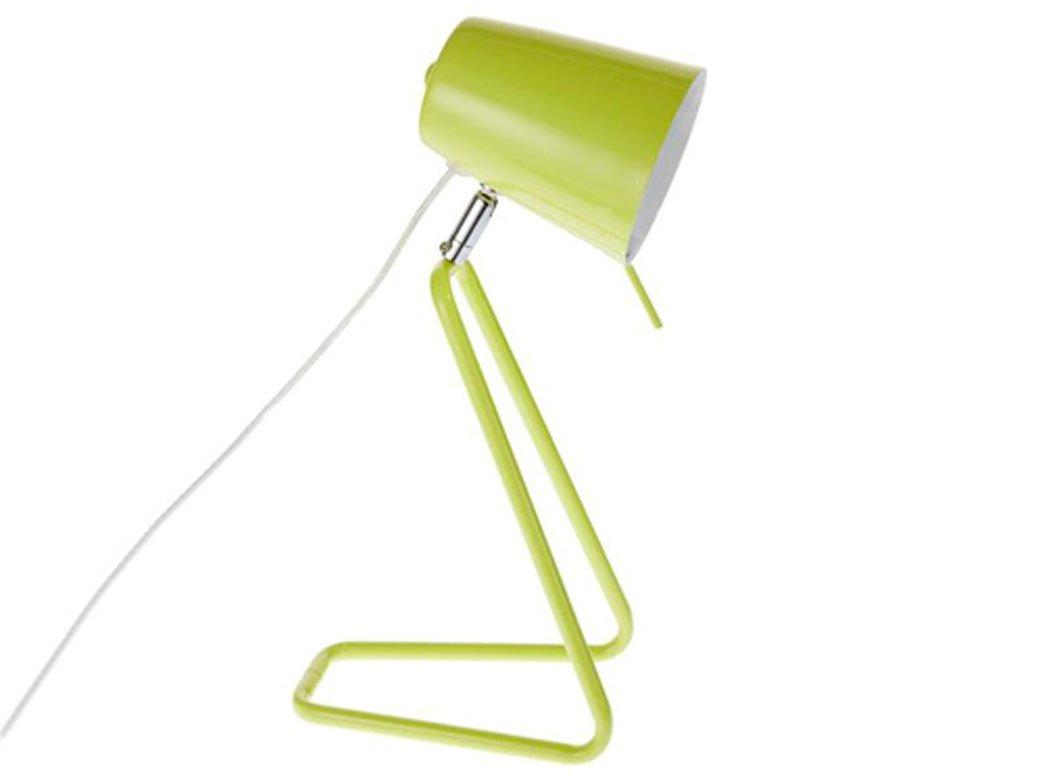 Leitmotiv z table lamp metal lime green amazon kitchen home geotapseo Choice Image
