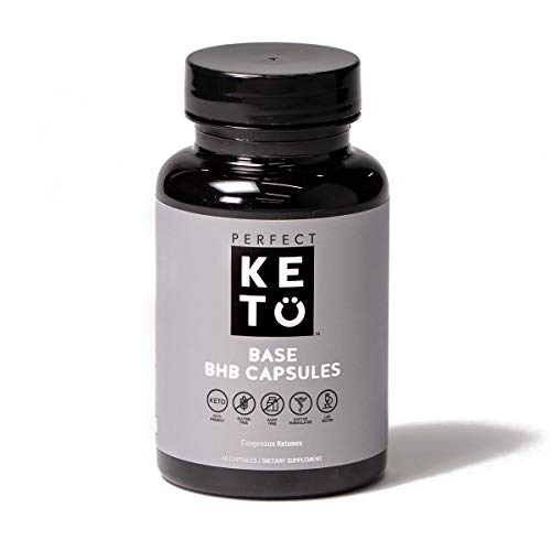 Perfect Keto Boost Pills | BHB Exogenous Capsules for Ketogenic Diet Best to Support Weight Management & Energy, Focus and Ketosis Beta-Hydroxybutyrate BHB Salt Pills