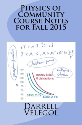 Download Physics of Community Course Notes for Fall 2015 pdf