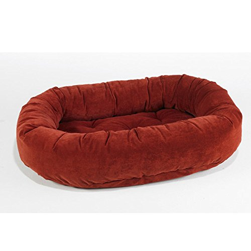 Bowsers Donut Bed, XX-Large, Pomegranate