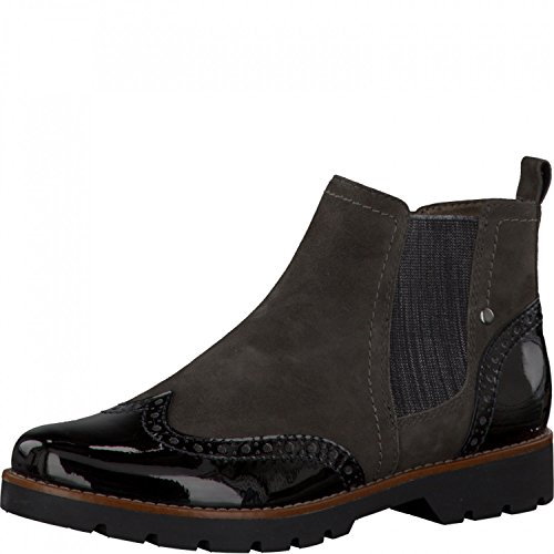 Jana Shoes Da.-Stiefel Größe 37 Grau (GRAPHITE SUEDE) (GRAPHITE SUEDE